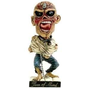 Neca   Iron Maiden Bobble Head Eddie Piece of Mind 19 cm Toys & Games