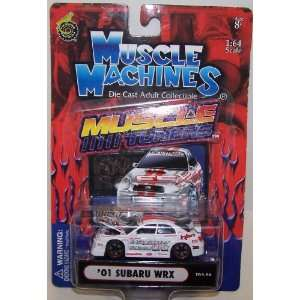Muscle Machines 1/64 Scale Diecast Muscle Tuners 2001