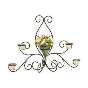 Luca Bella Hometrade Olivia Wrought Iron Sconce