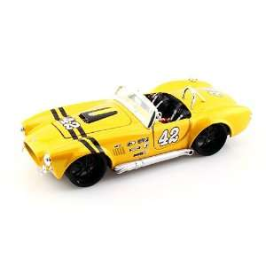 1965 Ford Shelby Cobra 427 1/24 Yellow Toys & Games