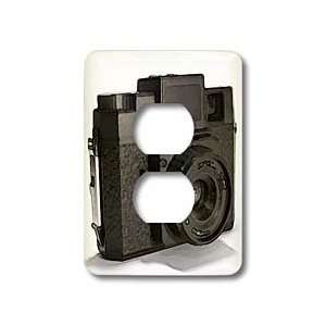 plastic film camera   Light Switch Covers   2 plug outlet cover Home
