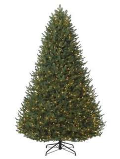 Balsam Fir Realistic Christmas Tree with Color+Clear Lights by Balsam