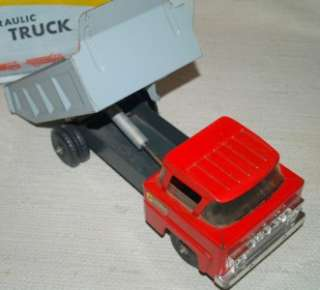 MARX 1960s POWERHOUSE HYDRAULIC DUMP TRUCK LORRY #1067 BOXED