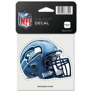 SEATTLE SEAHAWKS OFFICIAL LOGO COLOR DIE CUT DECAL Sports
