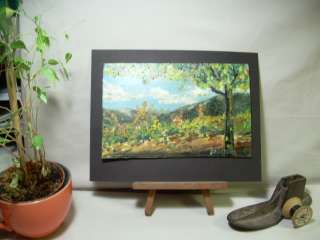 Peterson ORIGINAL fine ART oil PAINTING Napa GRAPE Vineyard