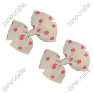 Polka Dot Pinwheel Girl/Baby/Toddler Hair Bows hairbows 30pcs