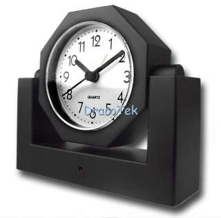Wireless Spy Camera Alarm Clock with 2.5 Inch LCD Receiver SR L230