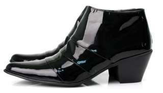 vb HOMME Custom handmade Mens Glossy Boots Shoes 4796