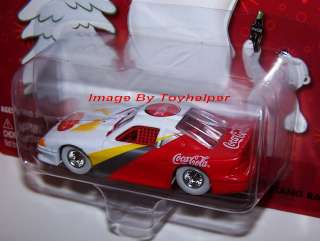 JOHNNY WHITE LIGHTNING FORD MUSTANG RACER COCA COLA WL