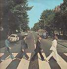 BEATLES abbey road LP 16 track cream/red label design (