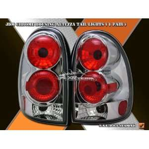 Grand Voyager Tail Lights JDM Chrome Taillights 1996 1997 1998 1999