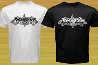 NEW WarCry   Logo Music band T shirt size S   3XL