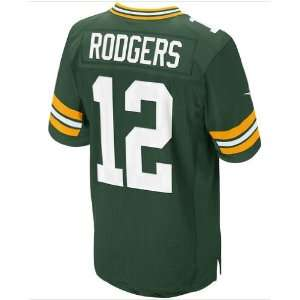Green Bay Packers NKE Unveils New 2012 NFL Uniforms #12 Aaron Rodgers