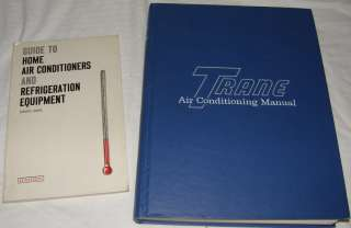 Lot 3 Air Conditioning Refrigeration Repair Maintenance Books Trane