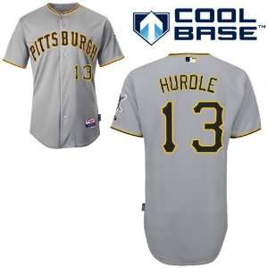Clint Hurdle Pittsburgh Pirates Authentic Road Cool Base
