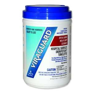 Viraguard® Extra Large Heavy Duty Disinfectant Wipes