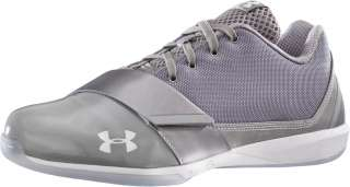 Mens Under Armour Micro G Black Ice Low Basketball Shoe