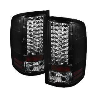 Spyder Auto ALT YD GS07 LED BK GMC Sierra 1500/2500HD Black LED Tail