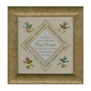 True Friends Poem   Gift for Best Friends   Made in USA