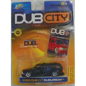 Jada Toys 1/64 Scale Diecast Dub City 2000 Chevy Suburban in Color