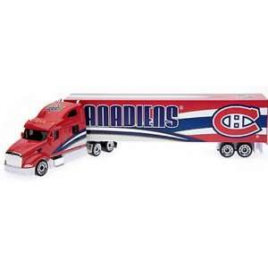 MONTREAL CANADIENS NHL 2008 Semi Diecast Peterbilt Tractor Trailer
