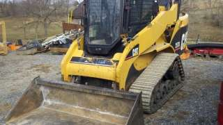 Cat Caterpillar 257B Track Skid Steer Loader DIESEL Tractor Combo