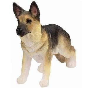 German Shepherd Small Dog Statue
