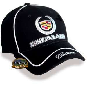 Cadillac Escalade Hat Cap Black (Apparel Clothing