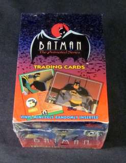 1993 Topps Batman The Animated Series Trading Card Box 36 Packs