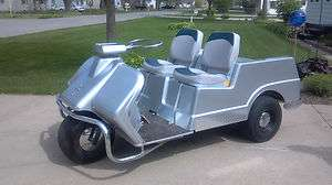 Harley Davidson three wheel gas golf cart 1971 Harley Davidson three