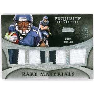 Deon Butler 2009 Upper Deck Exquisite Collection Rare