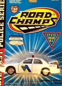 New Jersey State Police Trooper 1998 Ford Road Champs