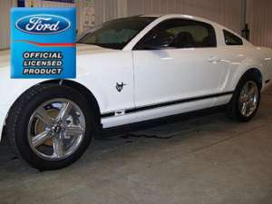 Ford Mustang Rocker Panel Door Side Stripes Decals   RM