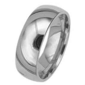 3pcs MENS WOMENS TITANIUM SILVER WEDDING BAND RING SET