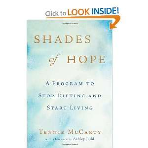 to Stop Dieting and Start Living [Hardcover] Tennie McCarty Books