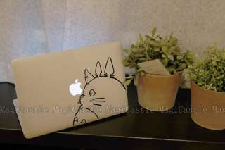 Totoro Laptop Macbook Air Pro Vinyl Decal Skin Sticker