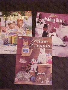 Plastic Canvas Cats Happy Birthday Wedding Bears Patterns How to Book