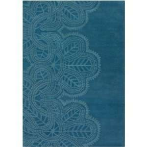 Taru Hand Tufted Transitional Blue Rug   TAR18701 by