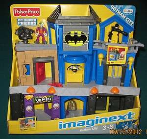 IMAGINEXT GOTHAM CITY PLAYSET BATMAN JOKER DC Superfriends ★NEW