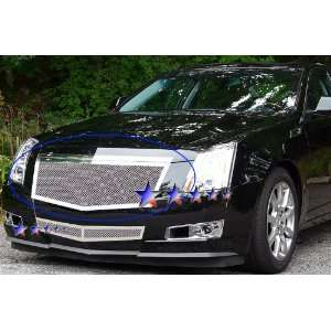Cadillac CTS Main Upper Chrome Stainless Steel Mesh Grille Automotive