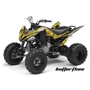 AMR Racing Yamaha Raptor 250 ATV Quad Graphic Kit   Butterflies