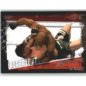 2010 Topps UFC Trading Card # 140 Rodney Wallace (Ultimate Fighting