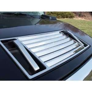 2010 2011 Hummer H2 Chrome Hood Vent Deck Kit   5Pcs/set Automotive