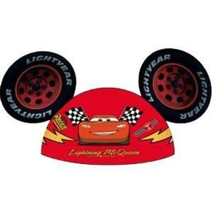 WDW Exclusive Mickey Mouse Disney Pixar Cars Ears Hat NEW