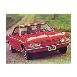 1967 CHEVROLET CORVAIR Sales Brochure Literature Book