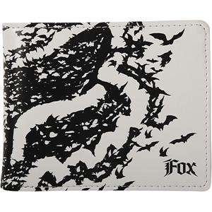 Fox Racing Bats Wallet     /White Automotive