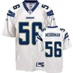 Shawne Merriman #56 San Diego Chargers Replica NFL Jersey White Size
