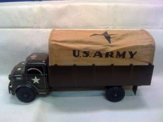 MARX LUMAR US ARMY TRUCK & SEARCHLIGHT