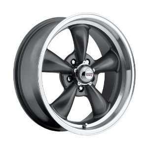 17x8 / 17x9 100 S Classic Series Charcoal Gray aluminum wheels rims