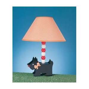 Scottish Terrier Puppy Dog Table Lamp